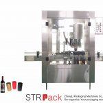 Автоматична машина за обтягане с алуминиева капачка с 4 глави