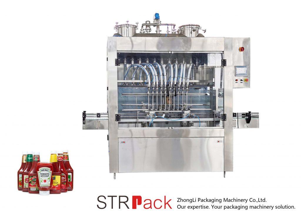 STRFP автоматична машина за пълнене на сос