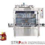 Автоматична машина за пълнене на сос