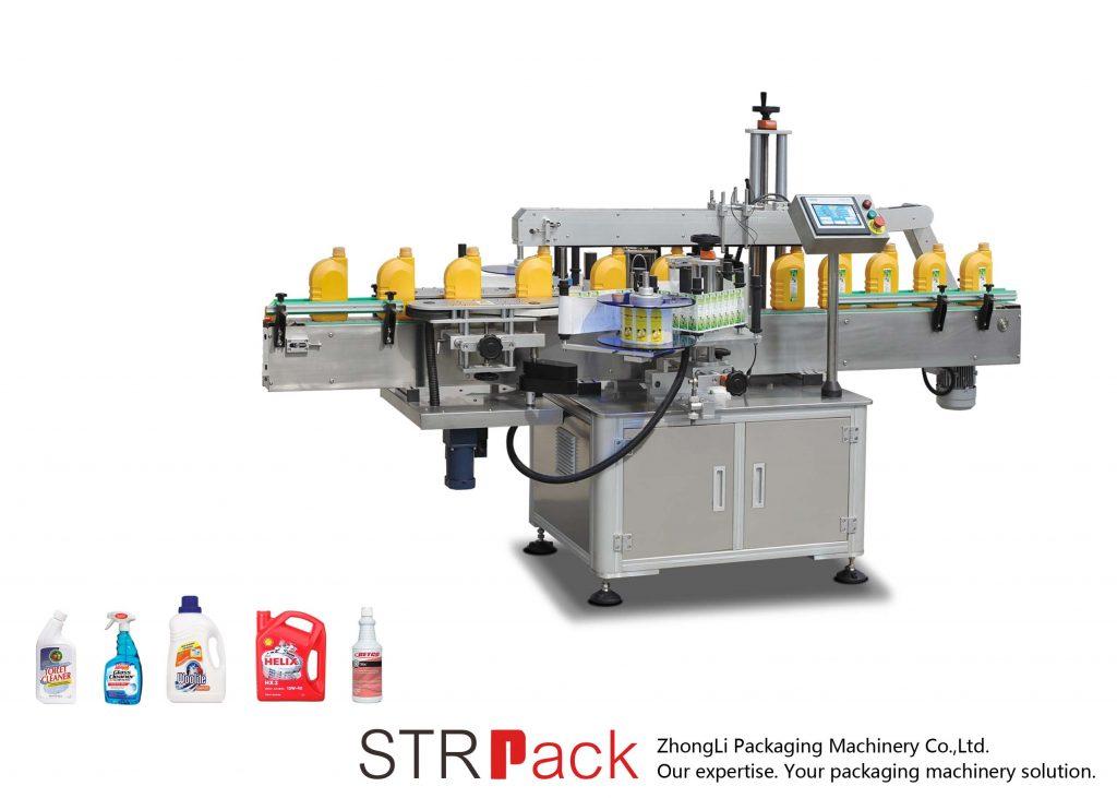 Автоматична самозалепваща се етикетираща машина с едно и две страни