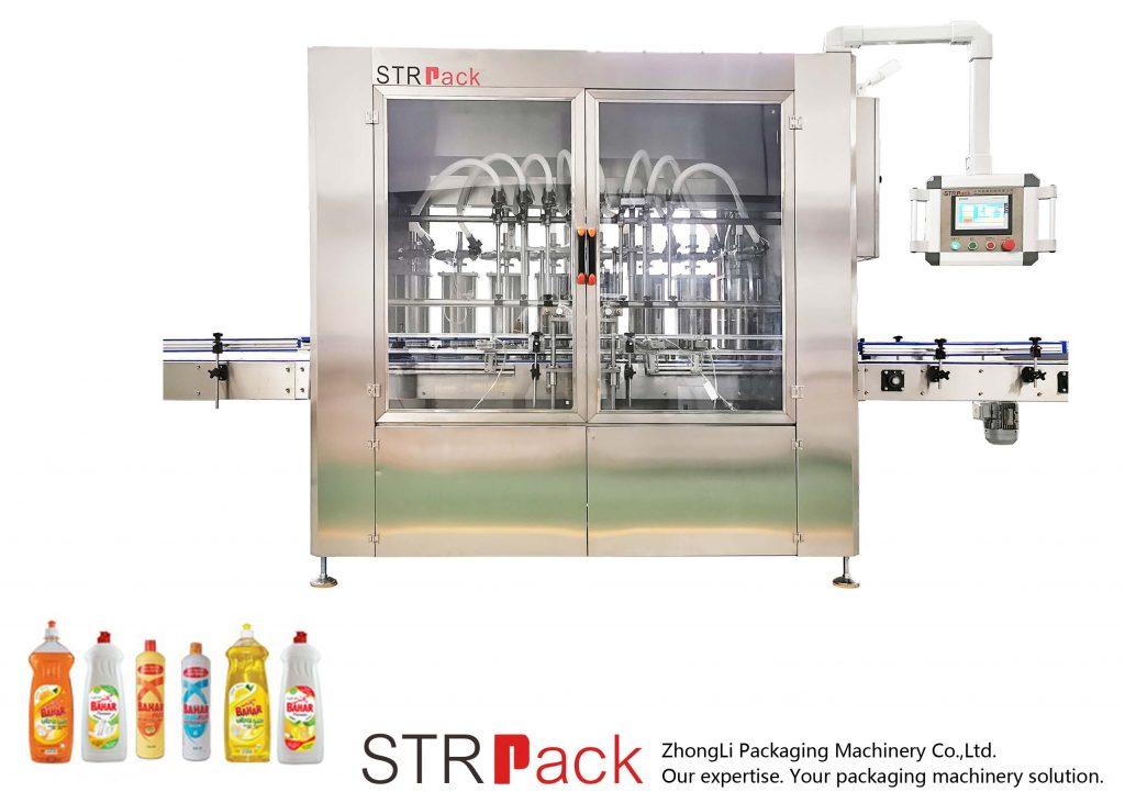 Автоматична машина за течно пълнене с бутало