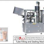 Машина за пълнене и запечатване на пластмасова тръба SFS-100