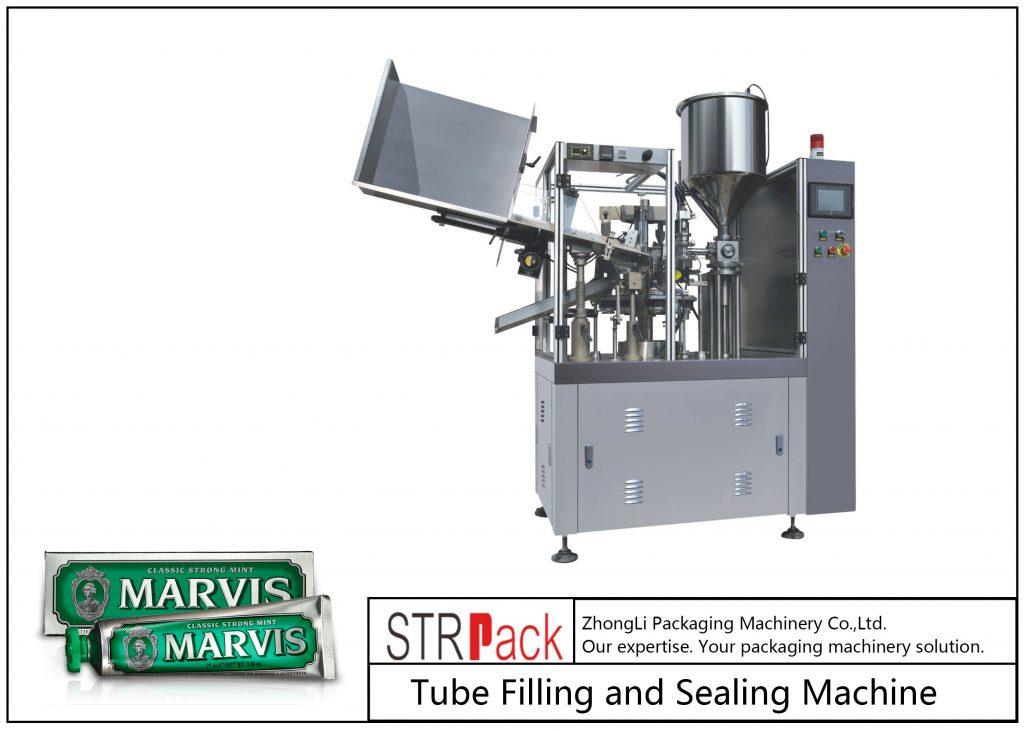 Машина за пълнене и запечатване на пластмасова тръба SFS-60