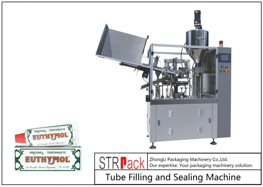 Машина за пълнене и запечатване на метални тръби SFS-60Z