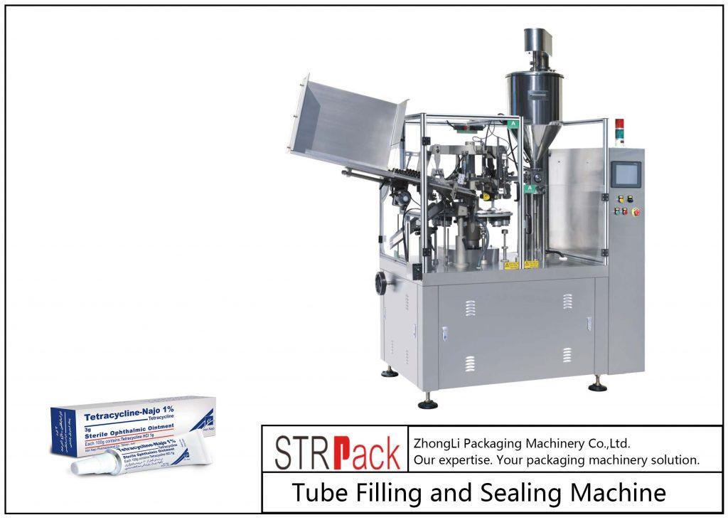 SFS-80Z Машина за пълнене и запечатване на метални тръби