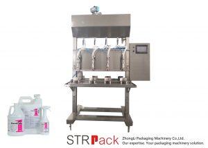 Полуавтоматична машина за пълнене с тежест във времето